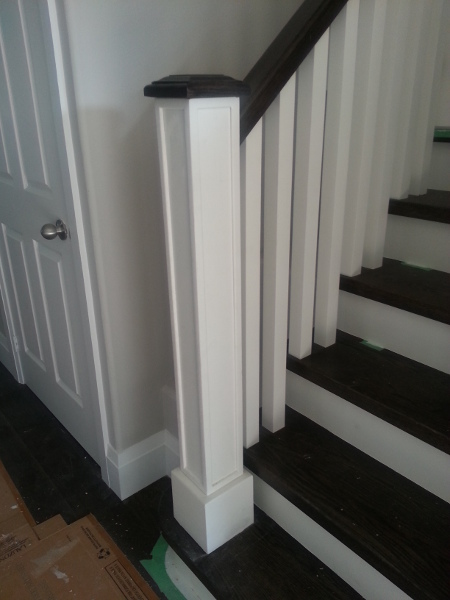 Custom Staircase Post