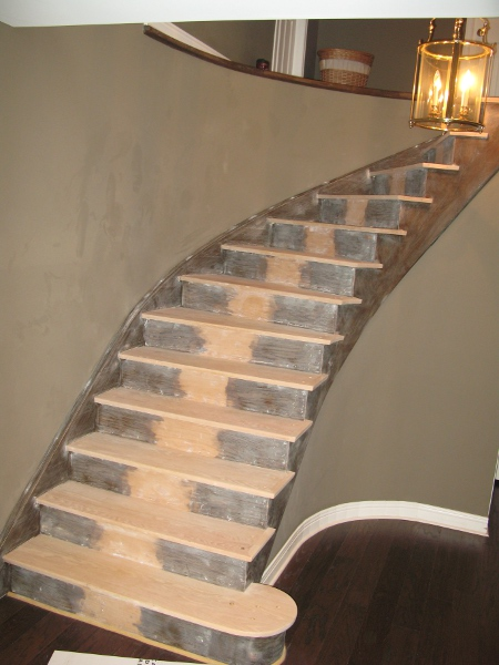 Stairs And Raings Refinishing Steps